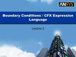 Boundary Conditions / CFX Expression Language