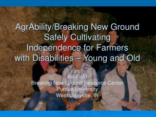 Most Frequently Reported Types of Disability Conditions in the Farm and Ranch Population