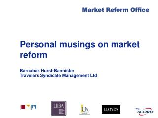 Personal musings on market reform