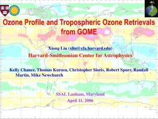 Xiong Liu ( xliu@cfa.harvard ) Harvard-Smithsonian Center for Astrophysics