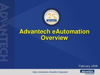 Advantech eAutomation Overview