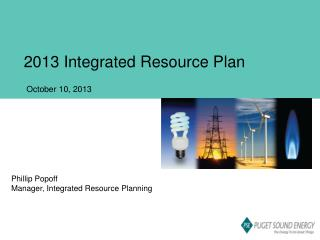 2013 Integrated Resource Plan