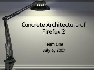Concrete Architecture of Firefox 2