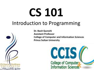 CS 101  Introduction to Programming