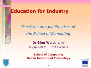 Education for Industry