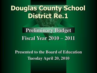 Douglas County School District Re.1