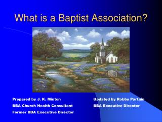 What is a Baptist Association?