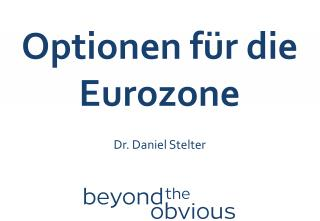 Optionen für  die  Eurozone