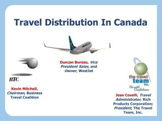 Travel Distribution In Canada