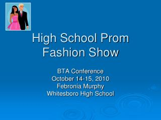 High School Prom Fashion Show