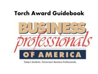 Torch Award Guidebook