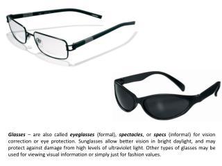 Scissors-glasses