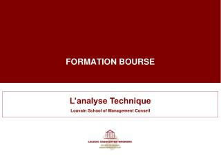 FORMATION BOURSE
