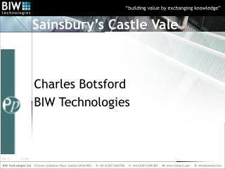 Sainsbury�s Castle Vale