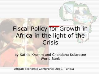 African Economic Conference 2010, Tunisia