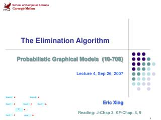 The Elimination Algorithm