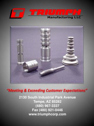 Meeting  Exceeding Customer Expectations