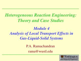 Heterogeneous Reaction Engineering: Theory and Case Studies