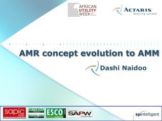 AMR concept evolution to AMM