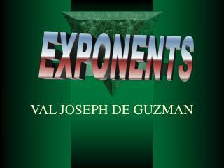VAL JOSEPH DE GUZMAN