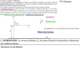 P11 Exercice