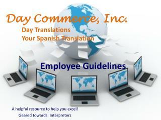Employee Guidelines
