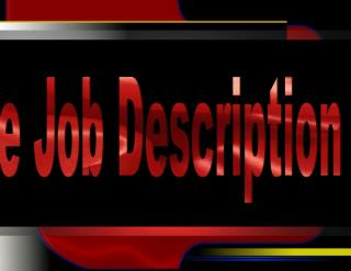 The Job Description