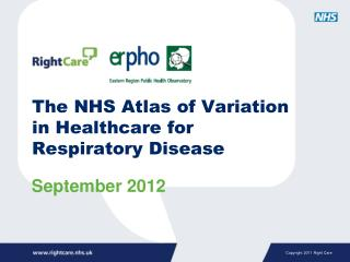 The NHS Atlas of Variation in Healthcare for Respiratory Disease
