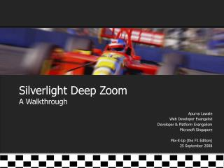 Silverlight Deep Zoom A Walkthrough