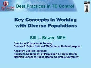 Key Concepts in Working  with Diverse Populations