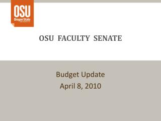 OSU  FACULTY  SENATE