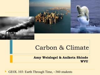 Amy Weislogel & Aniketa Shinde WVU