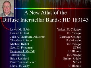 A New Atlas of the Diffuse Interstellar Bands:  HD 183143