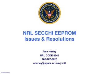 NRL SECCHI EEPROM Issues  Resolutions
