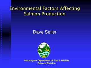 Environmental Factors Affecting Salmon Production