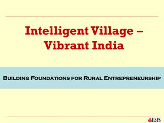 Intelligent Village – Vibrant India