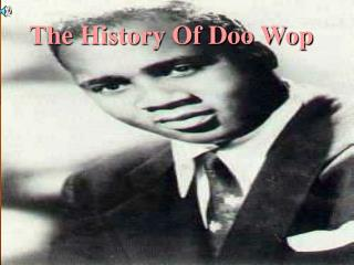 The History Of Doo Wop