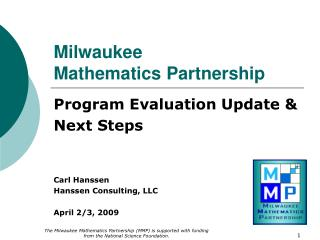 Milwaukee  Mathematics Partnership