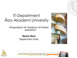 IT-Department Åbo Akademi University