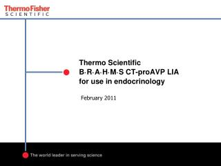 Thermo Scientific B · R · A · H · M · S CT-proAVP LIA  for use in endocrinology