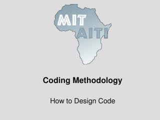 Coding Methodology