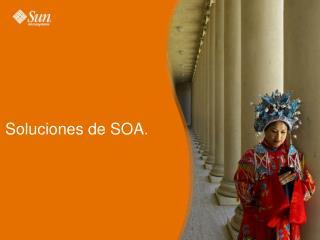 Soluciones de SOA.