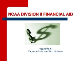 NCAA DIVISION II FINANCIAL AID