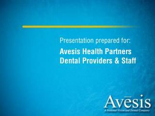 Presentation prepared for: