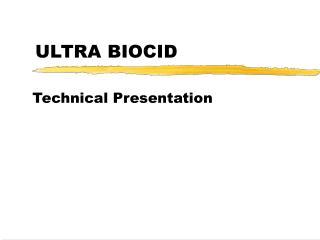 ULTRA BIOCID
