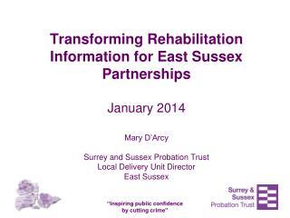 Transforming Rehabilitation