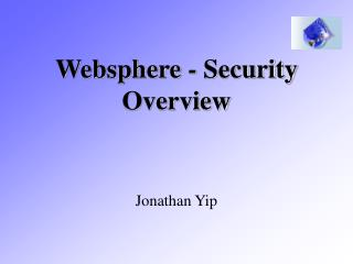 Websphere - Security Overview