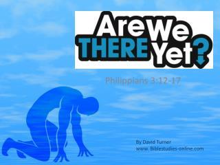Philippians 3:12-17