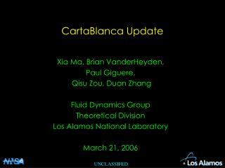 CartaBlanca Update