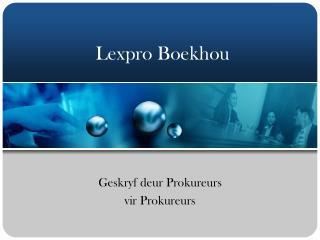 Lexpro Boekhou